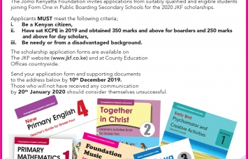 Apply for JKF Scholarship Now!