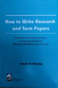HOW TO WRITE RESEARCH & TERM PAPERS