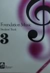 FOUNDATION MUSIC STUDENTS BK 3