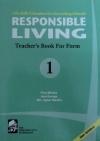 RESPONSIBLE LIVING TEACHERS BOOK 1